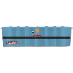 Race Car Valance (Personalized)