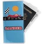Race Car Travel Document Holder