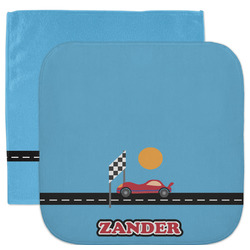 Race Car Facecloth / Wash Cloth (Personalized)