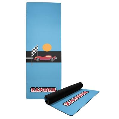 Race Car Yoga Mat (Personalized)