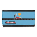 Race Car Leatherette Ladies Wallet (Personalized)