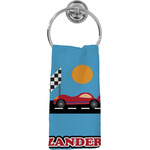 Race Car Hand Towel - Full Print (Personalized)