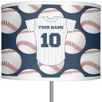 "Baseball Jersey 13"" Drum Lamp Shade (Personalized)"