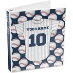 Baseball Jersey 3-Ring Binder (Personalized)