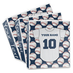 Baseball Jersey 3-Ring Binder (Personalized)