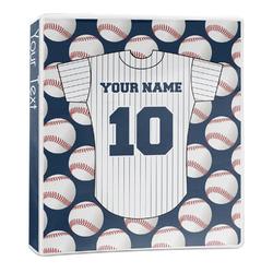Baseball Jersey 3-Ring Binder - 1 inch (Personalized)