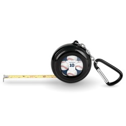 Baseball Jersey Pocket Tape Measure - 6 Ft w/ Carabiner Clip (Personalized)