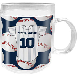 Baseball Jersey Acrylic Kids Mug (Personalized)