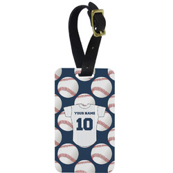 Baseball Jersey Aluminum Luggage Tag (Personalized)