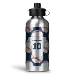 Baseball Jersey Water Bottle - Aluminum - 20 oz (Personalized)