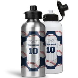 Baseball Jersey Water Bottles- Aluminum (Personalized)