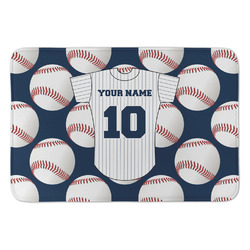 Baseball Jersey Anti-Fatigue Kitchen Mat (Personalized)
