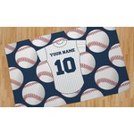 Baseball Jersey Area Rug (Personalized)