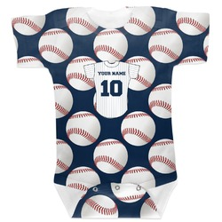 Baseball Jersey Baby Bodysuit (Personalized)