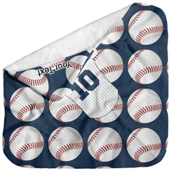 Baseball Jersey Baby Hooded Towel (Personalized)