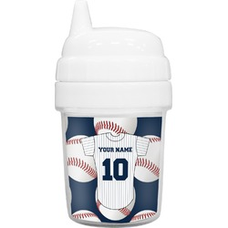 Baseball Jersey Baby Sippy Cup (Personalized)
