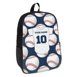 Baseball Jersey Kids Backpack (Personalized)