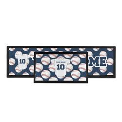 Baseball Jersey Bar Mat (Personalized)