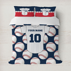 Baseball Jersey Duvet Covers (Personalized)