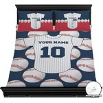 Baseball Jersey Duvet Cover Set (Personalized)