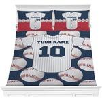 Baseball Jersey Comforter Set (Personalized)