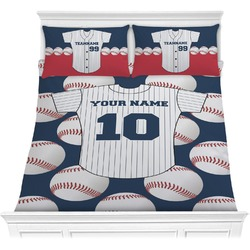 Baseball Jersey Comforter Set (Personalized)