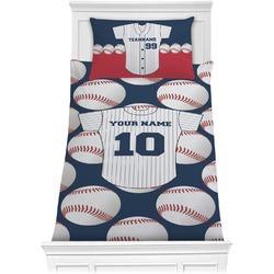 Baseball Jersey Comforter Set - Twin (Personalized)