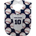 Baseball Jersey Baby Bib (Personalized)