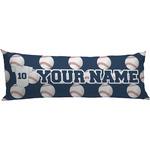 Baseball Jersey Body Pillow Case (Personalized)