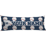 Baseball Jersey Body Pillow Case (Personalized)