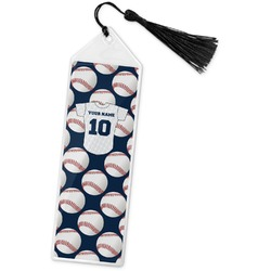 Baseball Jersey Book Mark w/Tassel (Personalized)