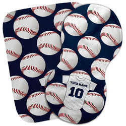 Baseball Jersey Burp Cloth (Personalized)