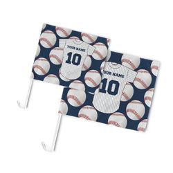 Baseball Jersey Car Flag (Personalized)