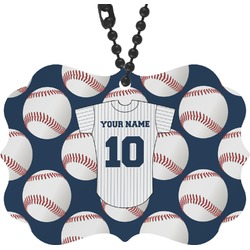 Baseball Jersey Rear View Mirror Decor (Personalized)