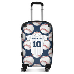 """Baseball Jersey Suitcase - 20"""" Carry On (Personalized)"""