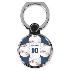 Baseball Jersey Cell Phone Ring Stand & Holder (Personalized)