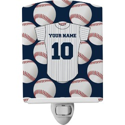 Baseball Jersey Ceramic Night Light (Personalized)