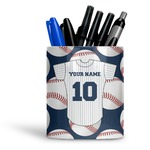 Baseball Jersey Ceramic Pen Holder