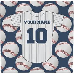 Baseball Jersey Ceramic Tile Hot Pad (Personalized)
