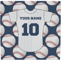 Baseball Jersey Ceramic Tile Hot Pad (Personalized)