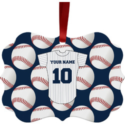 Baseball Jersey Ornament (Personalized)