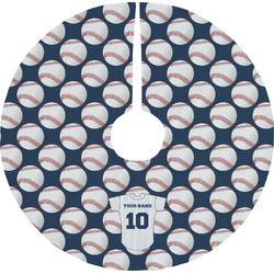 Baseball Jersey Tree Skirt (Personalized)