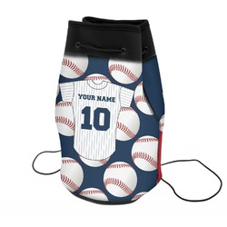 Baseball Jersey Neoprene Drawstring Backpack (Personalized)