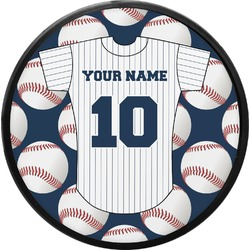 Baseball Jersey Round Trailer Hitch Cover (Personalized)