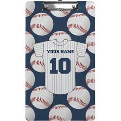 Baseball Jersey Clipboard (Legal Size) (Personalized)
