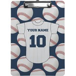 Baseball Jersey Clipboard (Personalized)