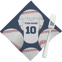 Baseball Jersey Cloth Napkins (Set of 4) (Personalized)