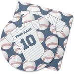 Baseball Jersey Rubber Backed Coaster (Personalized)