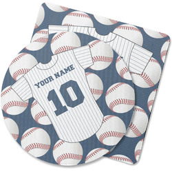 Baseball Jersey Rubber Backed Coaster (Personalized)