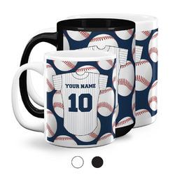 Baseball Jersey Coffee Mugs (Personalized)